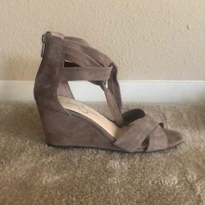 Open-toe Wedges